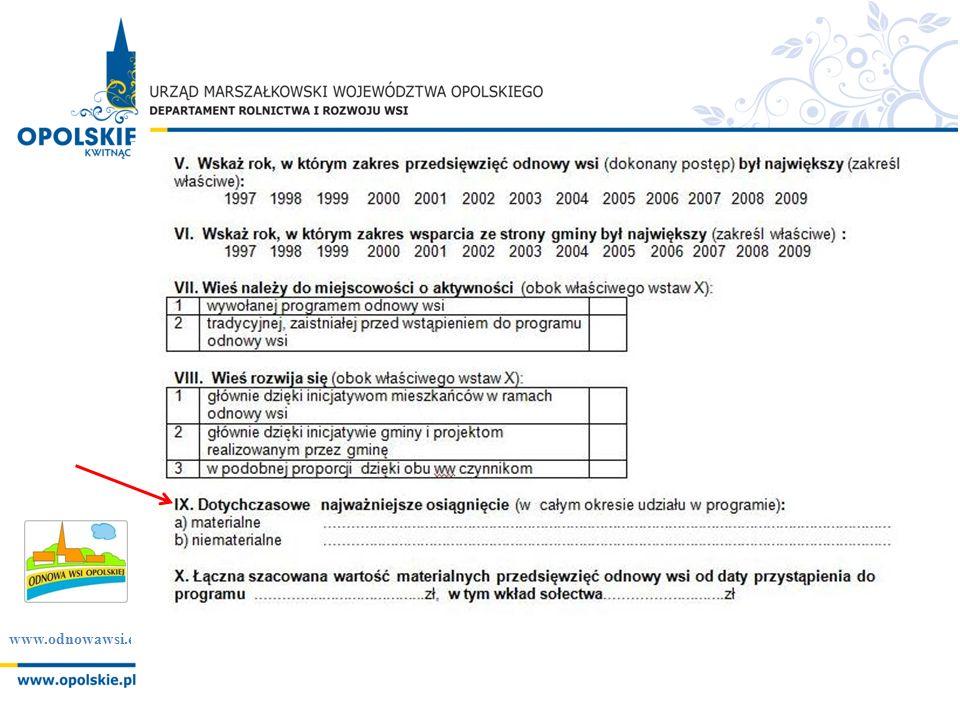 www.odnowawsi.eu Podróże studyjne: 1.Krajowe i zagraniczne 2.Dla początkujących uczestników i zaawansowanych