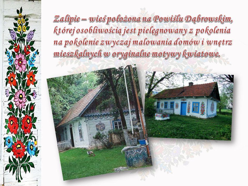 Odkrywcą Zalipia był Władysław Hickel, który w 1905 roku zobaczył nad łóżkiem służącego dwie malowane na papierze makatki.