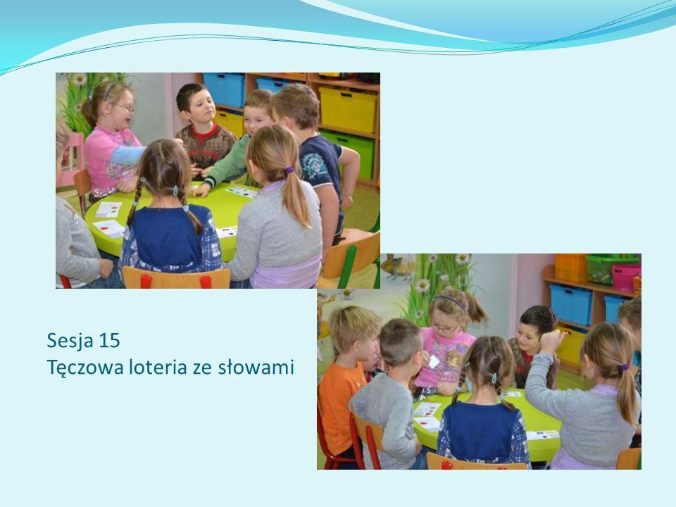 Sesja 15 Tęczowa loteria ze słowami