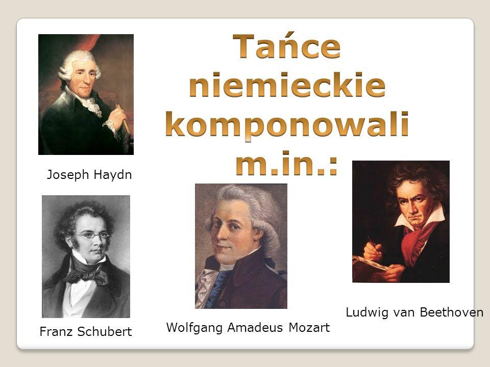 Joseph Haydn Wolfgang Amadeus Mozart Ludwig van Beethoven Franz Schubert