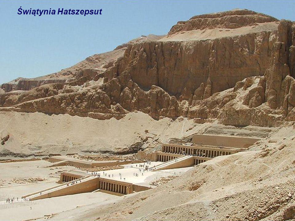 Świątynia Hatszepsut i świątynia grobowa Mentuhotepa II Deir el-Bahari