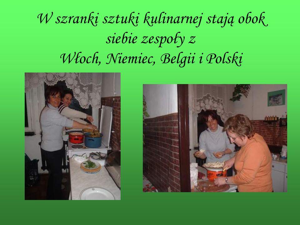 … włoska kuchnia tętni życiem