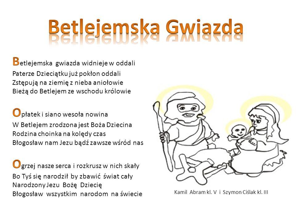 Kamil Abram kl. V i Szymon Ciślak kl. III