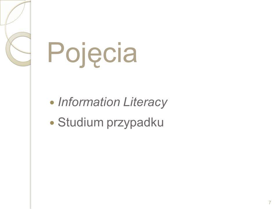 Co to jest Information Literacy.