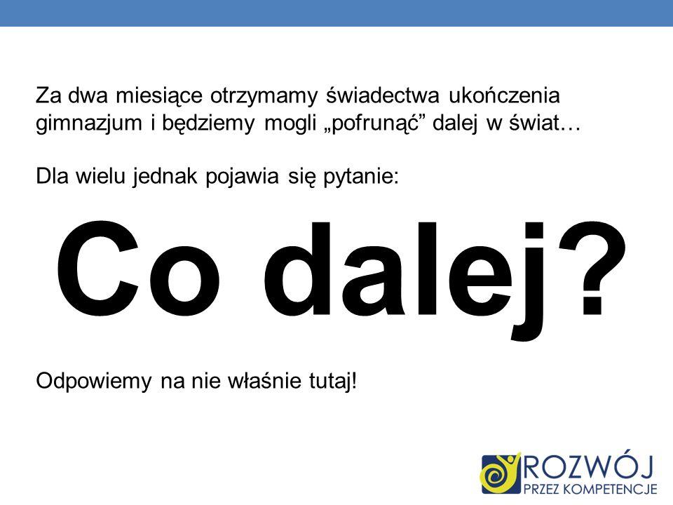 ZESPÓŁ SZKÓŁ LICEALNYCH I ZAWODOWYCH W OLECKU Adres: ul.