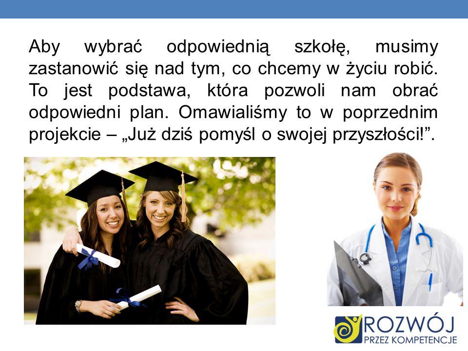 Aby upewnić się jeszcze w swoich wyborach, zaprosiliśmy panie z Poradni Psychologiczno- Pedagogicznej w Olecku, które zaprezentowały nam różne testy i gry przybliżające nasze usposobienie.
