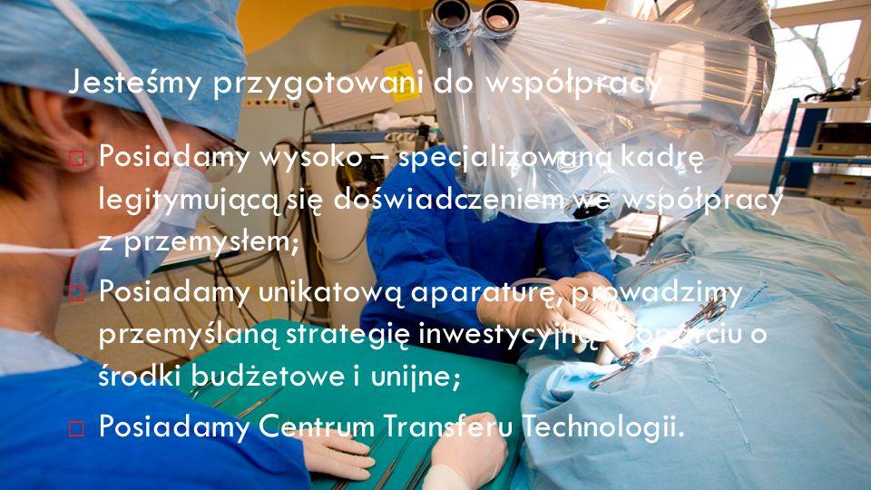 Prof.dr hab. Jacek Wysocki Rektor Uniwersytet Medyczny im.