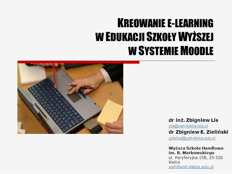 Edukacja Szkoły Wyższej – spojrzenie systemowe Systemy wykazują pewną ciekawą własność, którą opisano zasadą Nernsta: całość to coś więcej, niż suma części.