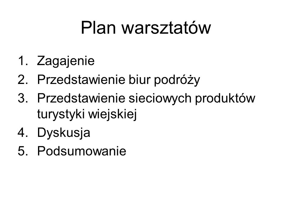 Przedstawienie biur podróży Polskie Biuro Podróży Sp.