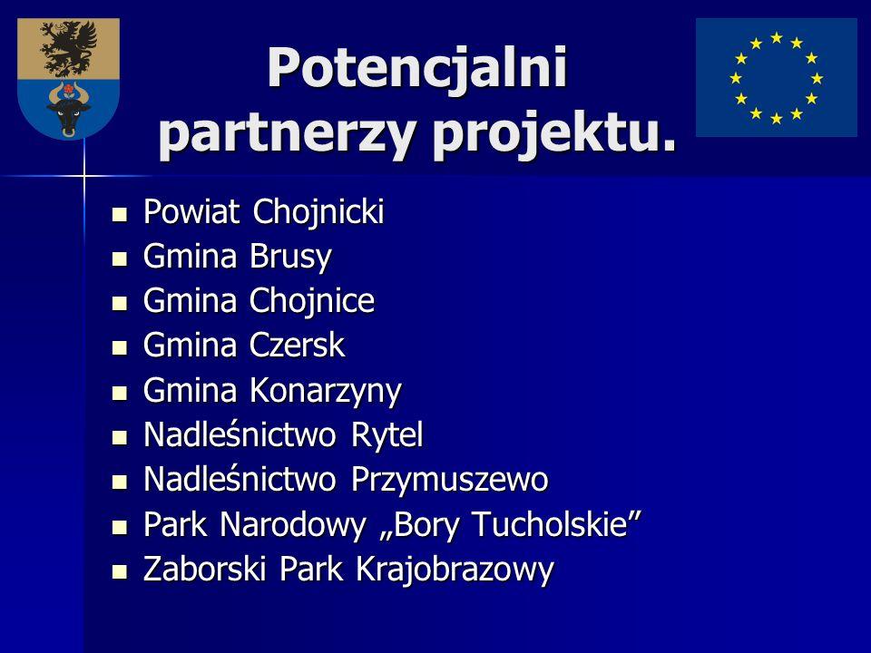 Potencjalni partnerzy projektu. Powiat Chojnicki Powiat Chojnicki Gmina Brusy Gmina Brusy Gmina Chojnice Gmina Chojnice Gmina Czersk Gmina Czersk Gmin