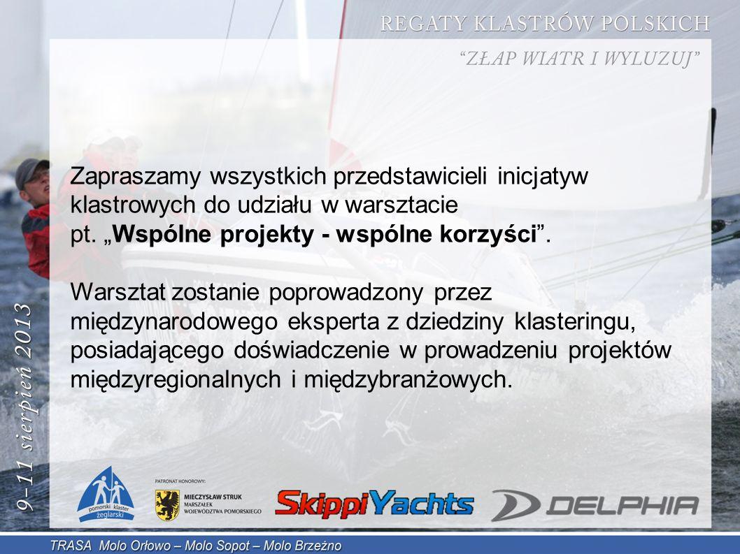Zapraszamy wszystkich przedstawicieli inicjatyw klastrowych do udziału w warsztacie pt.