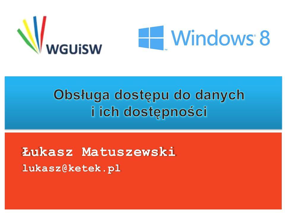 Łukasz Matuszewski lukasz@ketek.pl