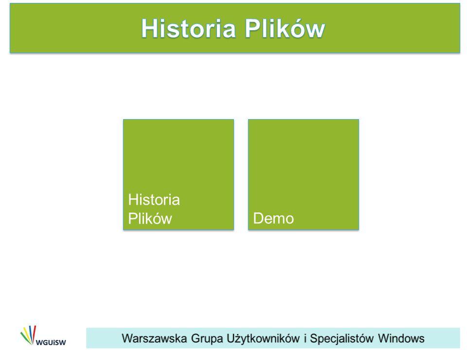 Demo Historia Plików Historia Plików
