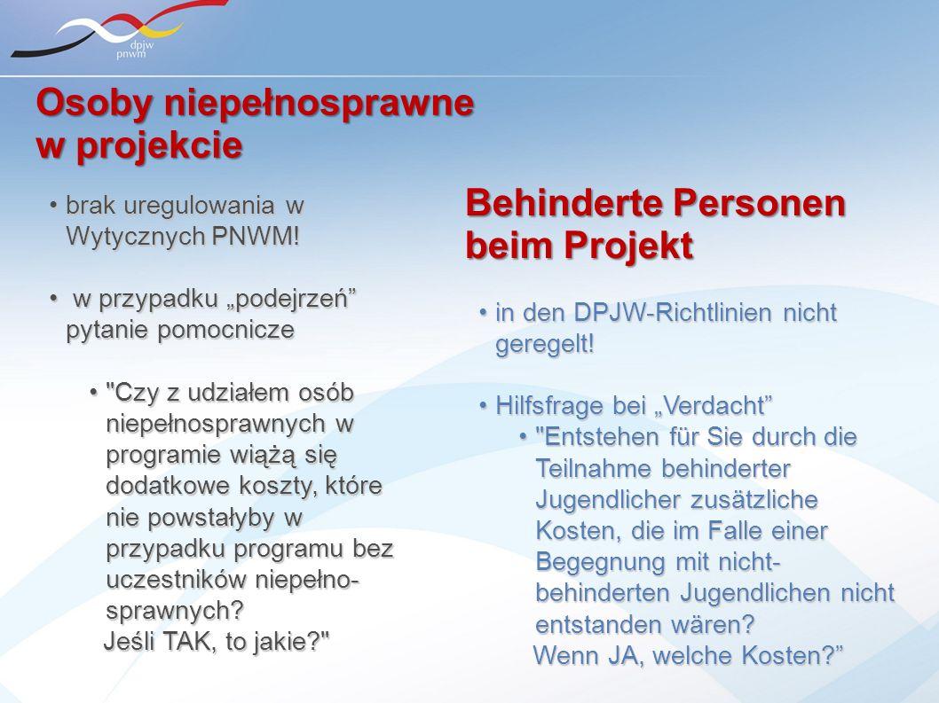 in den DPJW-Richtlinien nicht geregelt!in den DPJW-Richtlinien nicht geregelt! Hilfsfrage bei VerdachtHilfsfrage bei Verdacht