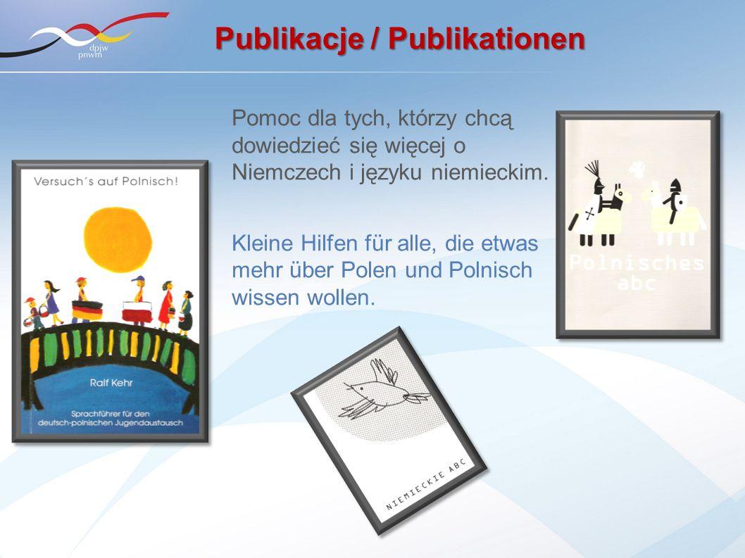 Pomoc dla tych, którzy chcą dowiedzieć się więcej o Niemczech i języku niemieckim. Kleine Hilfen für alle, die etwas mehr über Polen und Polnisch wiss