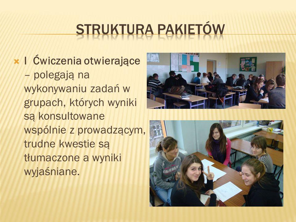 II i III spotkanie – rozwiążmy razem rozwiązywanie zadań w grupach (samodzielnie – bez udziału pedagoga)