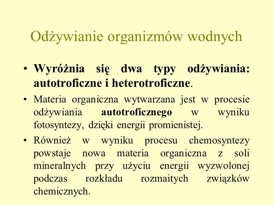 Podział jezior wg Thienemanna (zawartość tlenu w hypolimnionie latem) Zbiorniki tanytarsusowe - przewaga w bentosie larw ochotek z grupy Tanytarsus, o