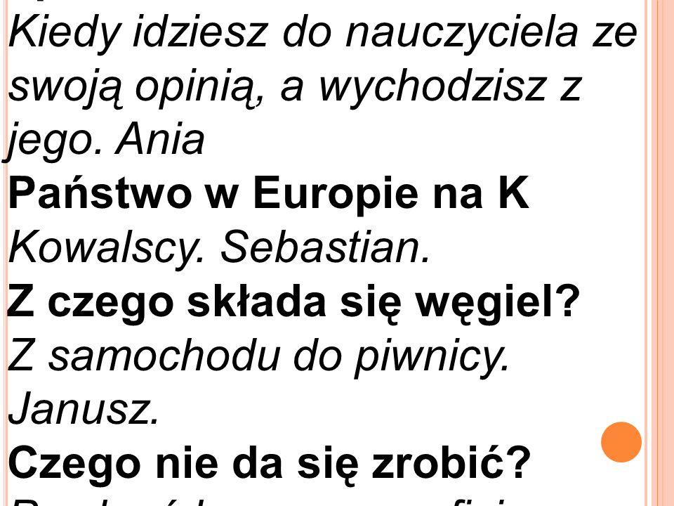 Jaki jest wyraz w języku polskim, który posiada podmiot, orzeczenie i element grozy.