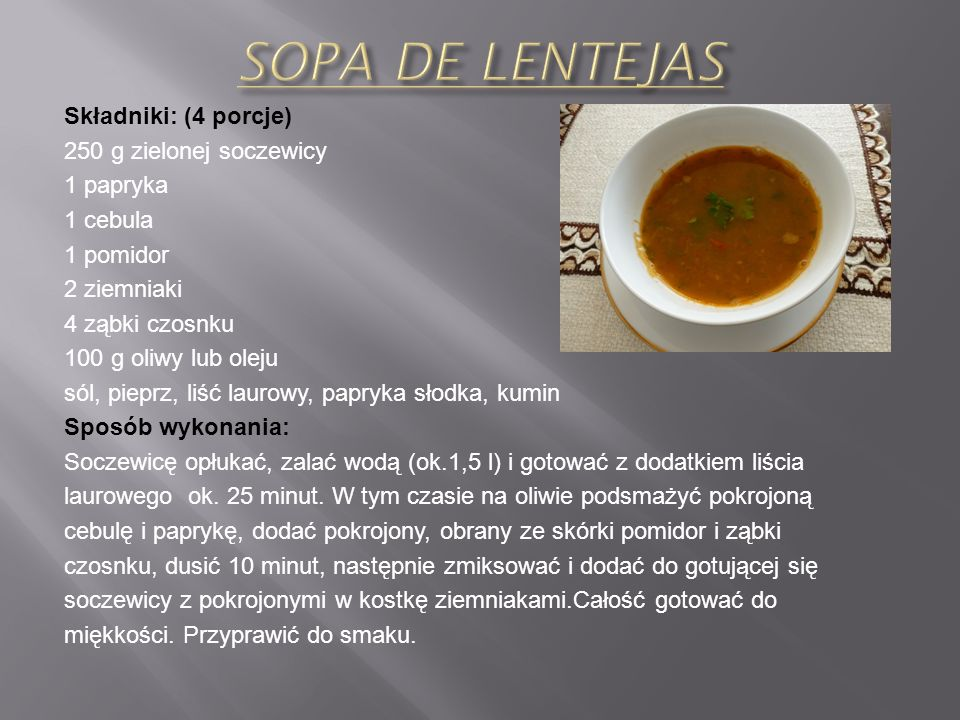 Składniki: (2 porcje) 3 szt. papryki (różne kolory) 1 szt. cebula 2 ząbki czosnku 1 puszka pomidorów całych w zalewie 2-3 jajka 60 g oliwy sól, pieprz