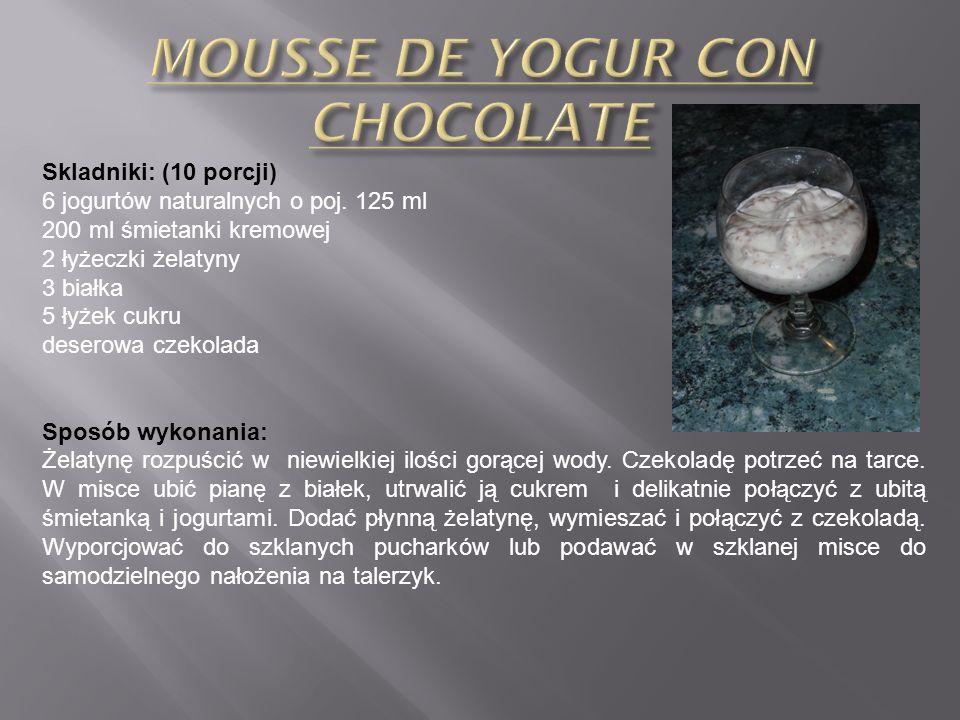 Składniki: (8 porcji) 100 g cukru 4 jajka 350 ml słodzonego mleka skondensowanego 400 ml mleka 1 łyżka esencji waniliowej Sposób przygotowania: Nagrza