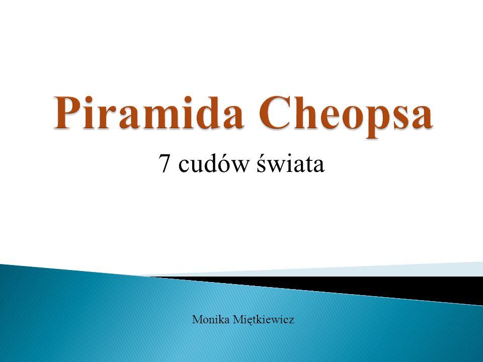 7 cudów świata Monika Miętkiewicz