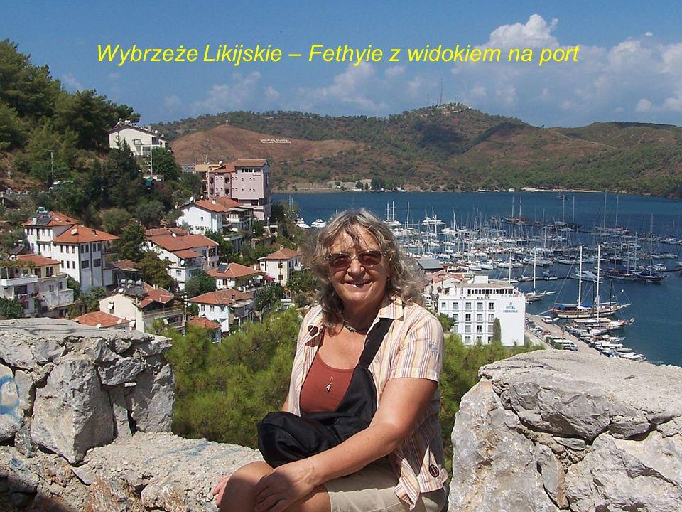 Wybrzeże Likijskie – Fethyie z widokiem na port