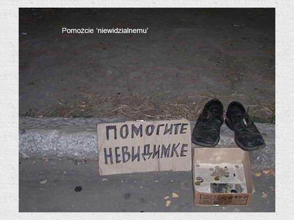 Pomożcie niewidzialnemu