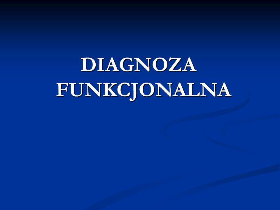 DIAGNOZA FUNKCJONALNA