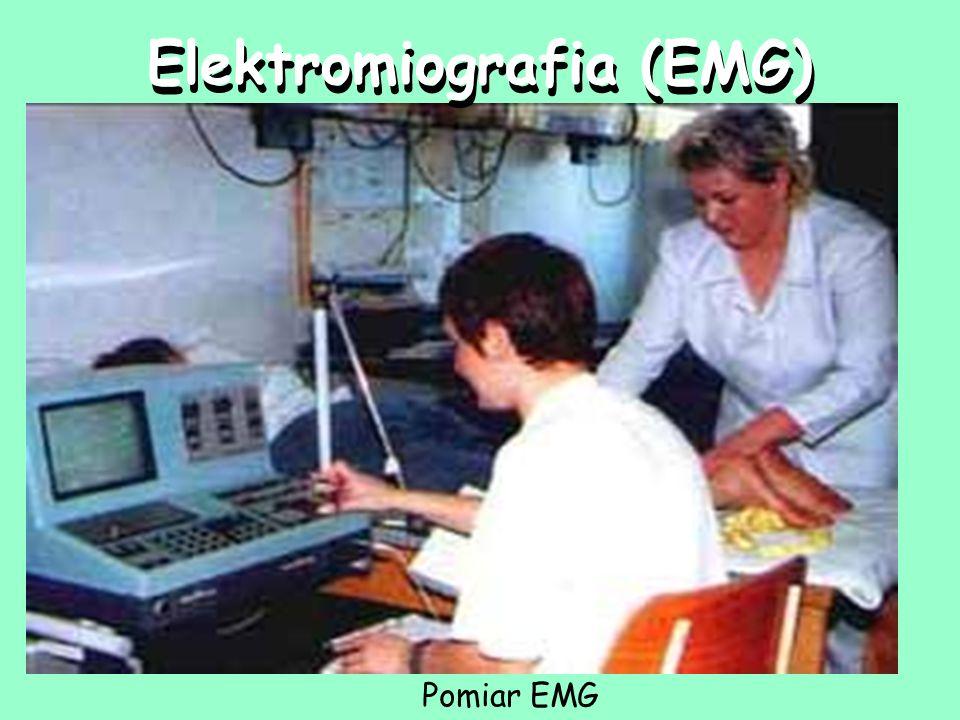 Elektromiografia (EMG) Pomiar EMG