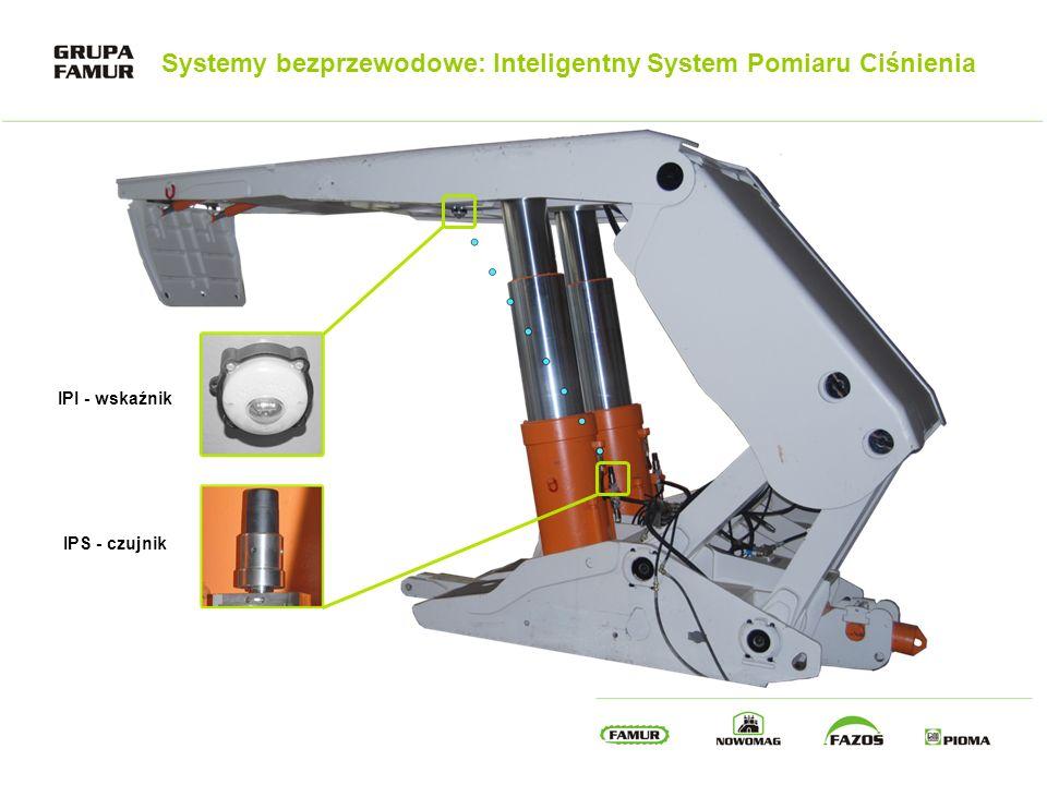 Systemy bezprzewodowe: Inteligentny System Pomiaru Ciśnienia IPI - wskaźnik IPS - czujnik