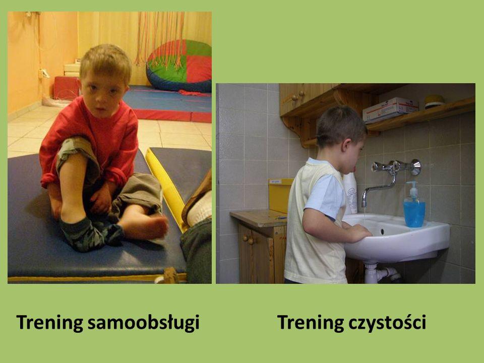 Trening czystościTrening samoobsługi