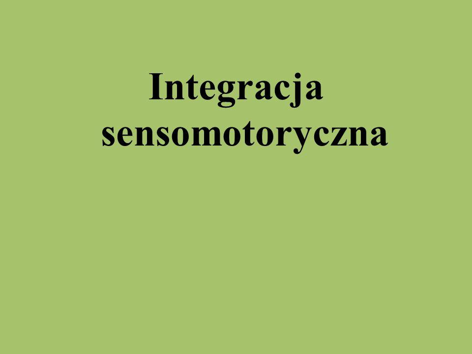 Integracja sensomotoryczna