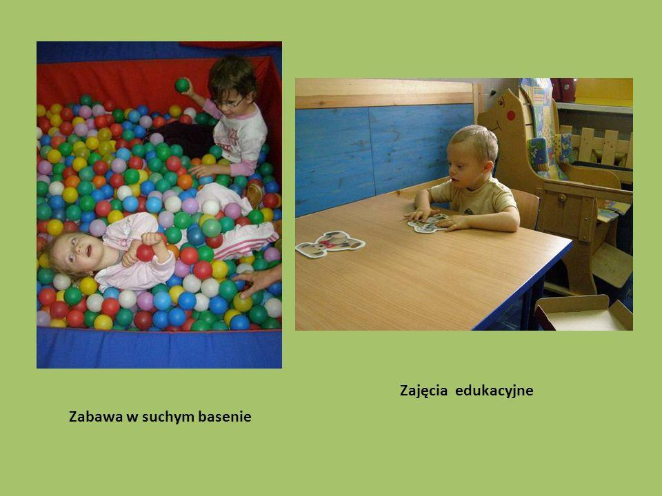 Zabawa w suchym basenie Zajęcia edukacyjne