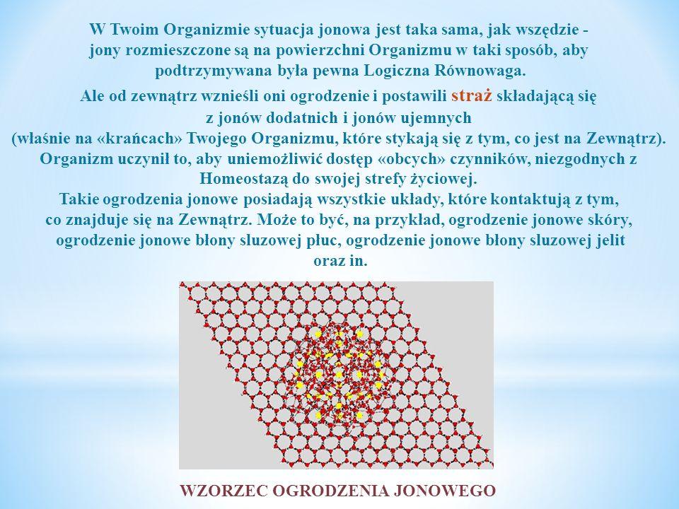 Musisz także wiedzieć, że zgodnie z Prawami Fizyki jony o jednakowym ładunku - na przykład, jon dodatni i jon dodatni – odpychają się wzajemnie.