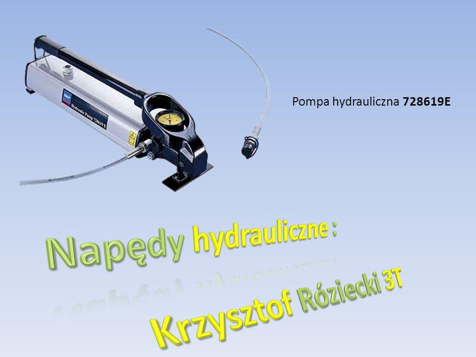 Pompa hydrauliczna 728619E