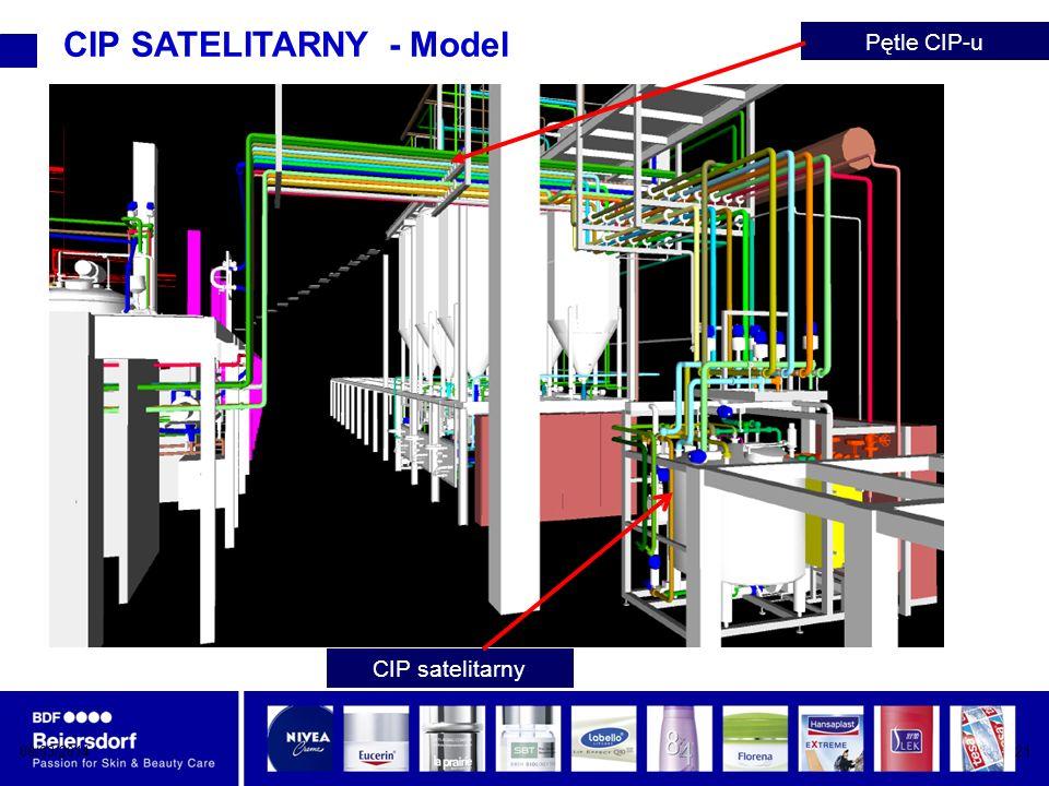 08/03/201421 CIP SATELITARNY - Model CIP satelitarny Pętle CIP-u