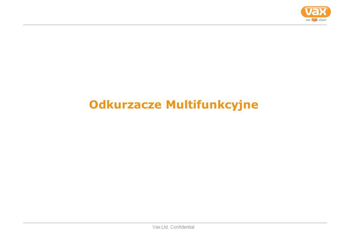 Vax Ltd. Confidential Odkurzacze Multifunkcyjne