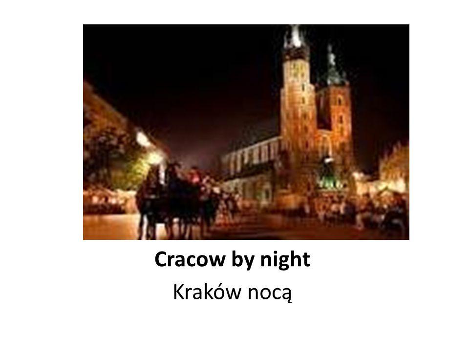 Cracow and the river Wisla Kraków i rzeka Wisła