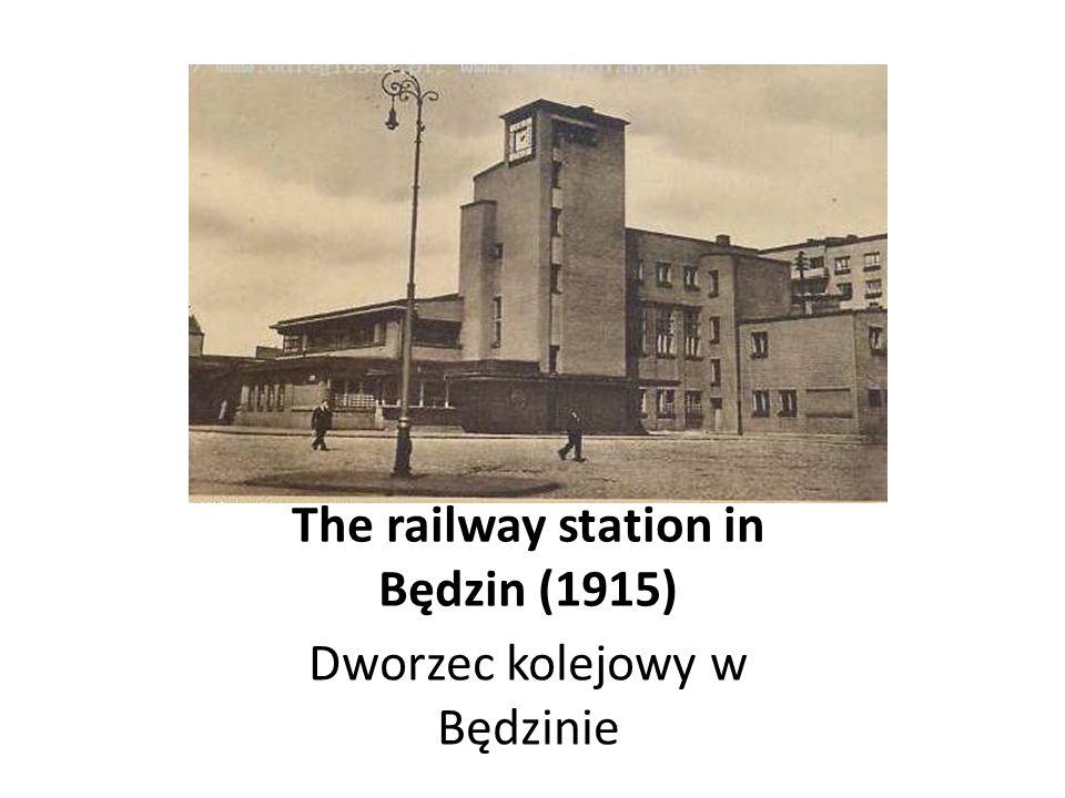 Vienna railway station in Warsaw (1840) Wiedeński dworzec kolejowy w Warszawie