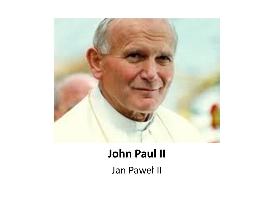 John Paul II Jan Paweł II