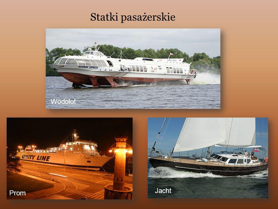 Statki towarowe TankowiecDrobnicowiec Kontenerowiec Prom RORO