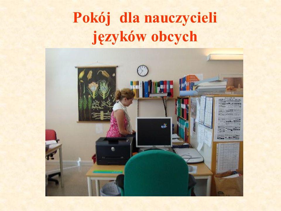 Pokój dla nauczycieli języków obcych