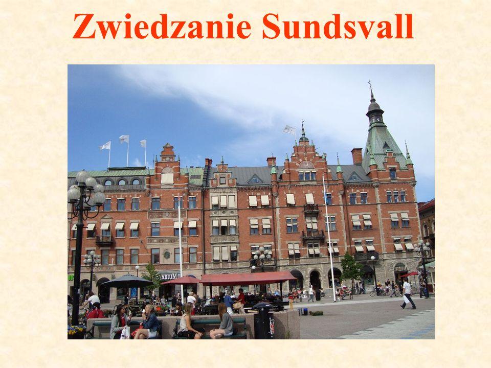 Zwiedzanie Sundsvall