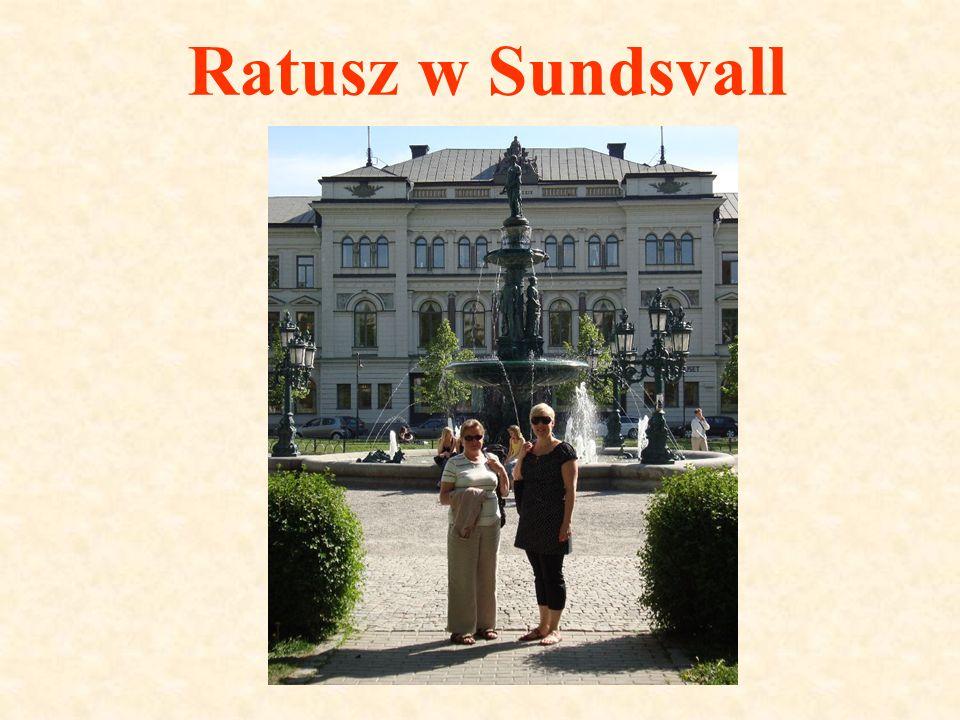 Ratusz w Sundsvall