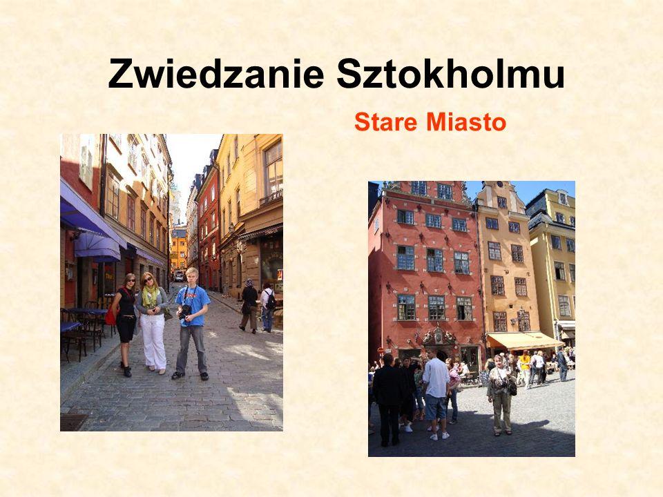 Zwiedzanie Sztokholmu Stare Miasto