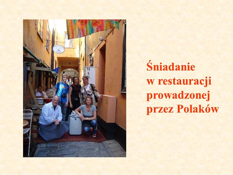 Śniadanie w restauracji prowadzonej przez Polaków