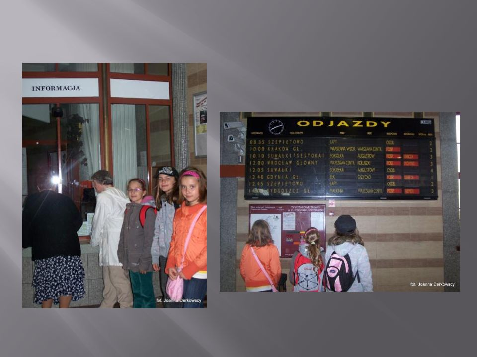 Dzieci odbyły krótką podróż autobusem szynowym – szynobusem.