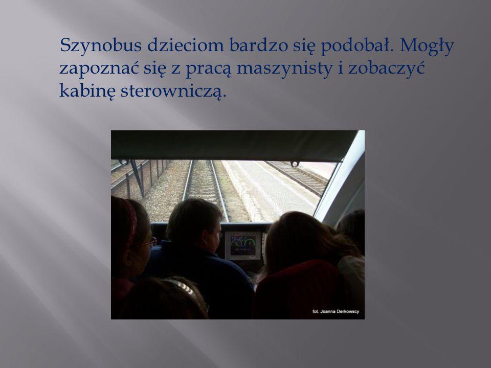 W szkole gościliśmy również pracowników kolei, którzy opowiadali o swojej pracy i zagrożeniach, jakie mogą się zdarzyć każdemu z nas.