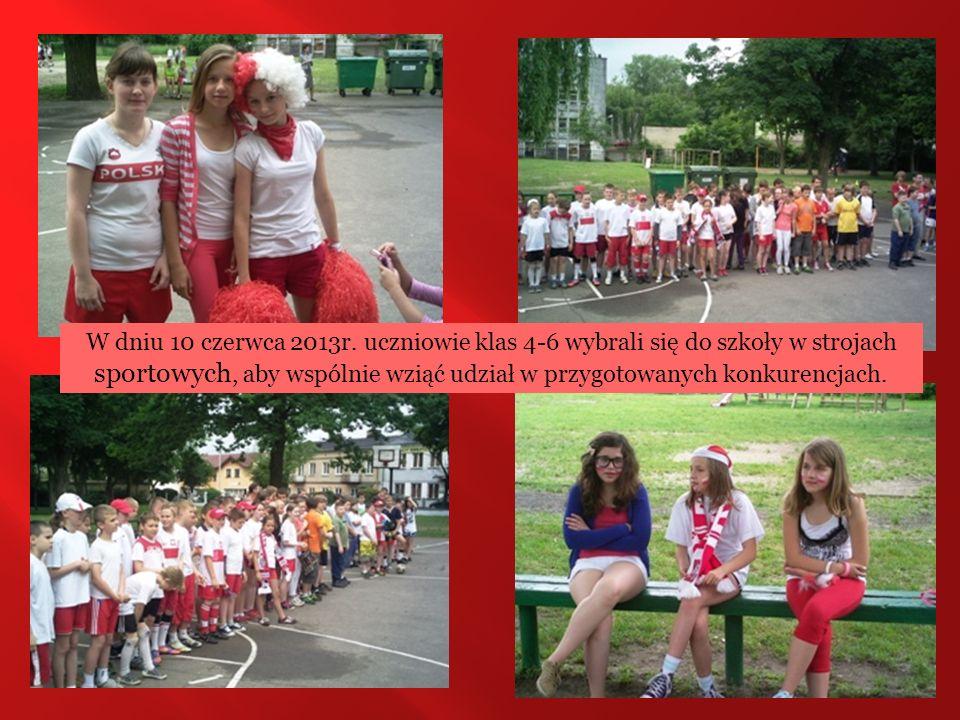 Olimpiadę rozpoczął turniej piłki nożnej wśród dziewcząt i chłopców.