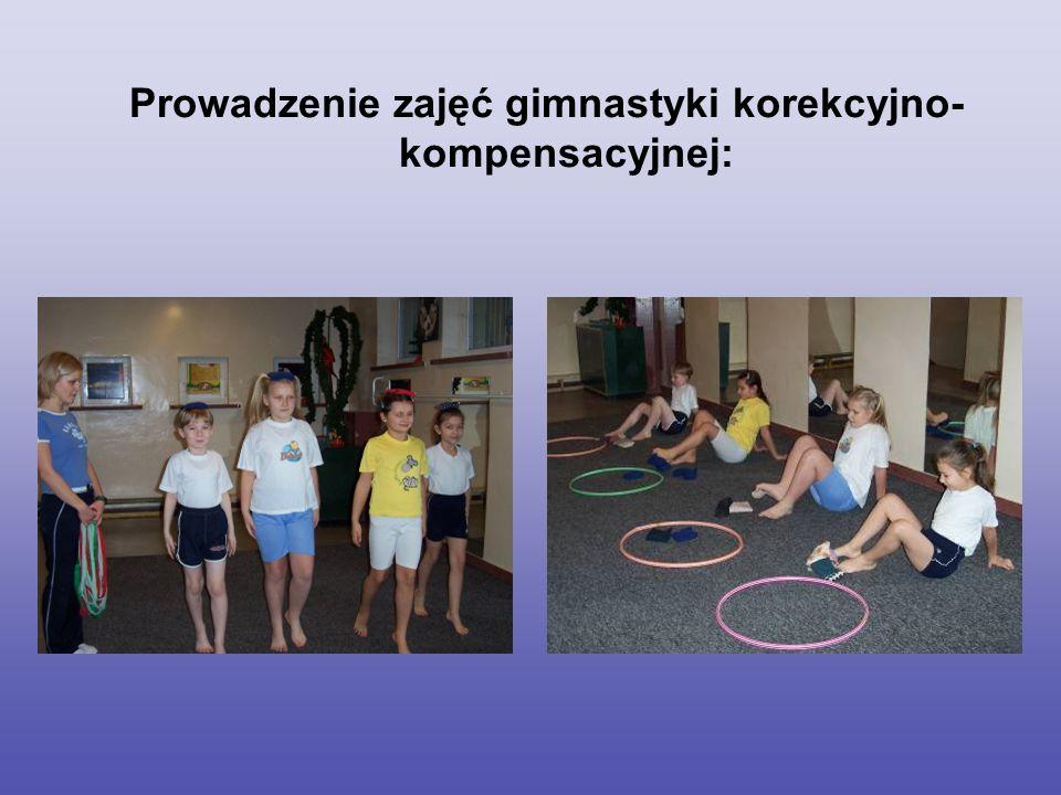 Prowadzenie ćwiczeń śródlekcyjnych: